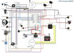 19 Best Motorcycle wiring diagrams images | Motorcycle ... Wiring Motorcycle on