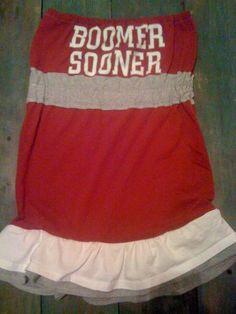 boomer sooner #OU dress
