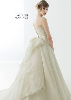 De incompetente schoonheid ♡ 道 ク ラ シ ッ ク Klassieken door Ratrie Mariage jurk te schattig Colored Wedding Dresses, Wedding Bridesmaid Dresses, Wedding Dress Styles, Bridal Dresses, Wedding Gowns, Ball Gowns Fantasy, Weeding Dress, Beautiful Gowns, Bridal Style