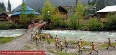 Pakistan Army Soldiers in #Neelum Valley - Azad #Kashmir - #Pakistan...