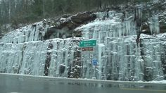 My hometown of  Mullens, West Virginia in the winter time.