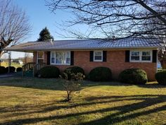 Great home close to town and schools. All Brick home with 3 bedrooms and 1 bath home with a carport and 3.9 Acres. New metal roof and remainder of HVAC warranty. lot's of fruit trees on land.