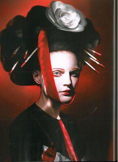 Neo geisha. Paolo Roversi
