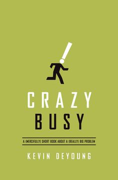 Constant busyness is dangerous for our souls. In this short, honest, and often humorous book, DeYoung rejects the busyness as usual mindset, helping us to make time for the things that really matter.