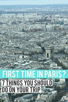 First time travelling to Paris? From the popular tourists spots like the Eiffel Tower and Arc de Triomphe to the side streets of Montmartre and the artist haven of Le Marais, here are 7 things to do on your holiday in France's capital city. (Hint: it includes Nutella!)