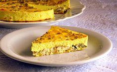 Pitadinha: Torta de ricota e frango #lowcarb
