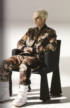 Daesung.. men's print fashion