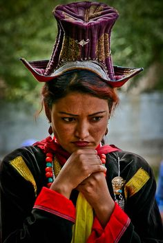 India, Woman at Ladakh, Leh, Northern India | © Anthony Pappone
