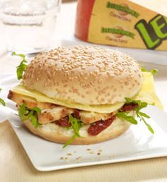 Leerdammer Caractère-Burger