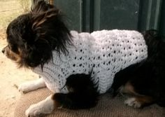 2 Crochet Dog Sweater Patterns PDF Patterns