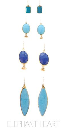 bright blue dazzlers from. Something blue perhaps? http://www.elephantheart.com/