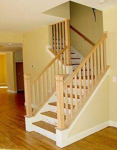 Best 2X4 Stair Railing Decorating Ideas Pinterest Stair 400 x 300