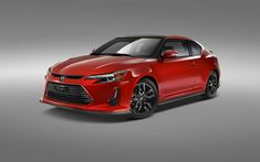 Download wallpapers Scion tC RS10, 4k, 2017 cars, japanese cars, coupe, Scion