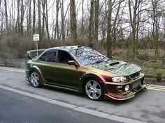 Modified Subaru Impreza WRX RA STi 1998 Pictures