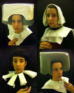 Artist Nina Katchadourian uses her in-flight time to make these hilarious portraits in the restroom - Seat Assignment. So funny.