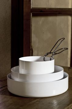 Abct antiaderente, bianco assoluto, professionale in cucina, elegante in tavola KnIndustrie made in Italy