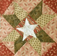 Civil War Quilts: Dixie Dairy 11: Just Hominy http://civilwarquilts.blogspot.com/2013/11/dixie-dairy-11-just-hominy.html