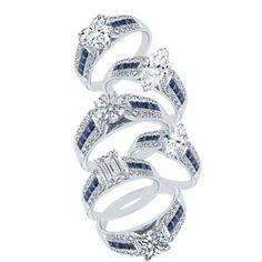 Vintage Horseshoe Engagement Ring ~ Wedding Ideas