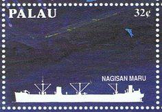 Mercante armado Nagisan Maru 1931, hundido en Islas Palaos 1944