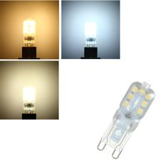 G9 3W 14 SMD 2835 LED Pure White Warm White Natural White Light Lamp Bulb AC110V AC220V
