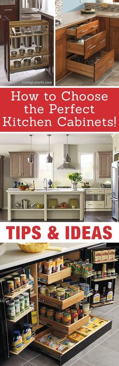 The best Kitchen Cabinet Organization Ideas! This Modern Farmhouse White Kitchen is full of clever ways to organize cabinets. Home organizing inspiration. Best Kitchen Layout, Smart Kitchen, Kitchen Design, Kitchen Ideas, Kitchen Redo, Kitchen Inspiration, Kitchen Modern, Kitchen Tips, Kitchen Pantry Cabinets