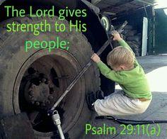 Psalm 29:11(a)