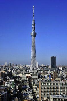 Japan Builds World's Second Tallest Building | http://designtaxi.com/news/351816/Japan-Builds-World-s-Second-Tallest-Building/