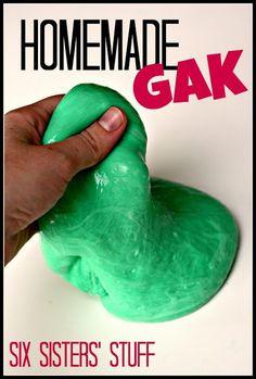 Homemade Gak - a