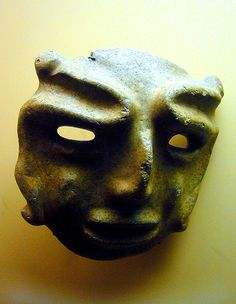 Chontal style mask Pre-Columbian Mexico
