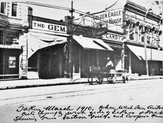 The Gem Saloon - El Paso Texas famous saloon gunfight