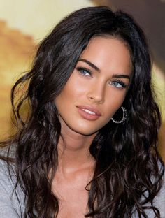 Megan Fox Face, Megan Fox Hot, Brunette Beauty, Hair Beauty, Stunning Eyes, Woman Face, Dark Hair, Pretty Face, Beauty Shots