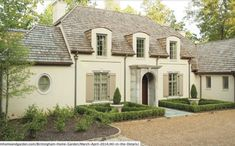 Exterior Paint Colors - You want a fresh new look for exterior of your home? Get inspired for your next exterior painting project with our color gallery. All About Best Home Exterior Paint Color Ideas French Country Exterior, French Country House, French Country Decorating, Country Houses, Exterior Paint Colors, Exterior Design, Shutter Colors, House Painting, House Colors