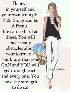 T believe in yourself♡