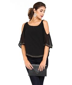 Gaucho Glam Woven Top - Tops - Shop