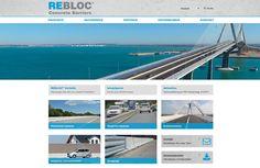 Webdesign für die REBLOC Gmbh. Web Design, Web Design Projects, Weaving, Things To Do, Design Web, Website Designs, Site Design
