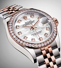 20 Best Rolex Watches That Will Make You The Happiest Woman In The World Rolex – the name itself conjures an image of a person lapped in luxury, loaded with precious jewels, and being waited on hand and foot. Rolex Watches For Men, Big Watches, Stylish Watches, Sport Watches, Cool Watches, Guess Watches, Luxury Watches For Men, Rolex Explorer Ii, Rolex Day Date