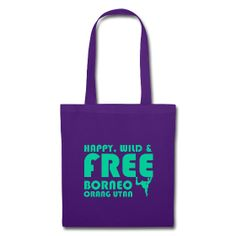 Happy #Borneo g&p tote bag ~ 92. All the benefits will be invested in community projects in Borneo. Worldwide delivery.