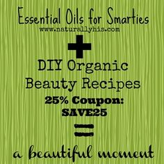 50 DIY Organic Beauty Recipes