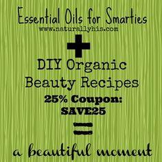 50 DIY Organic Beauty Recipes
