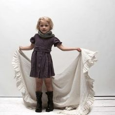 Matteo Bambino Stella Linen Dress