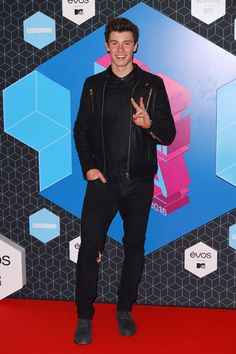 Shawn Mendes attends the MTV Europe Music Awards, Rotterdam, Netherlands – 06 Nov 2016