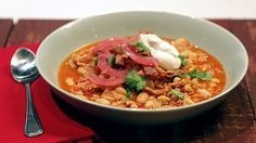Clinton Kelly's Turkey and White Bean Chili