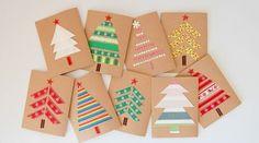 Carte de voeux personnalisée à faire pour Noël - tutos et 70 modèles DIY