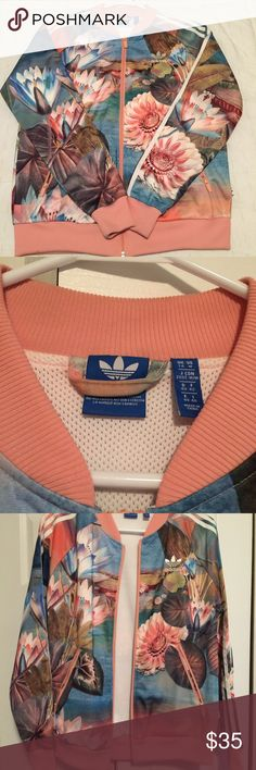 Adidas Superstar Jacket I am selling a casual Adidas superstar jacket that came out during the Pharrell Williams campaign and advertisement for the Adidas brand. This is a comfortable jacket that was only worn once. It has no signs of wear and tear or damages. I am only selling because I have changed my style and I don't wear it. adidas Jackets & Coats Utility Jackets