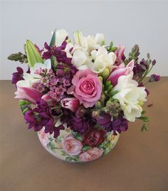 Flower arranging tips http://mysoulfulhome.com