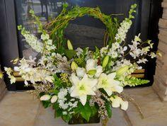Large Silk Floral Arrangements - Foter
