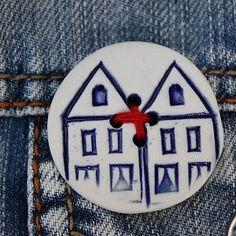 button huis SIMPEL&LEUK