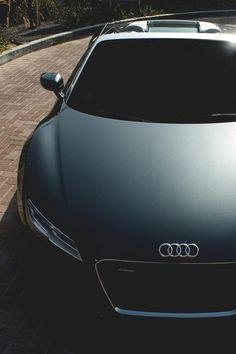 Matte black Audi R8 New Hip Hop Beats Uploaded EVERY SINGLE DAY  http://www.kidDyno.com