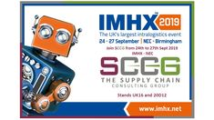 The Supply Chain Consulting Group (SCCG) consolidates the knowledge and expertise of an established and experienced group of professional Logistics Consultants and Supply Chain Specialists across a range of industry sectors.  Occurring every 3 years, from 24 to 27 September, SCCG attends the IMHX 2019 Exhibition, UK's largest Logistics, Supply Chain and Materials Handling Event,  Our consultants look forward to meeting prospective clients at our stands UK16 in Hall 6 & 20D12 in Hall 20.