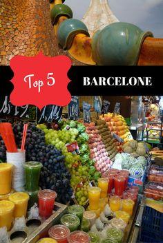 Top 5 à ne pas rater à Barcelone - Moi, mes souliers  #Barcelone #BucketList #Voyage #Guide